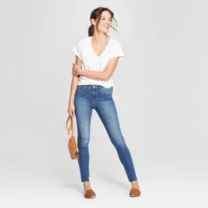 Women's High-Rise Skinny Jeans-Size 0